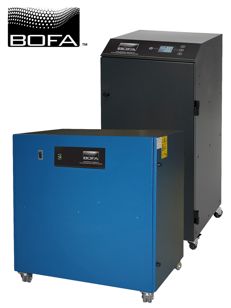 BOFA laser exhaust fume systems