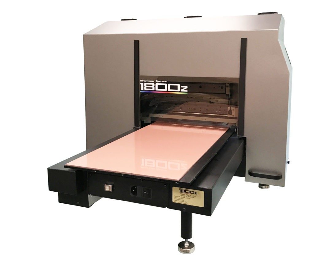 dcs 1800z inkjet uv led printer