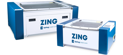 epilog zing laser cutter machines